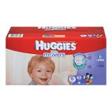 Huggies Little Movers Diapers, Club Pack Size 6 (92 ea)