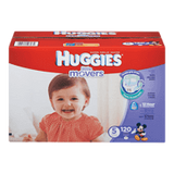 Huggies Little Movers Diapers, Club Pack Size 5 (120 ea)