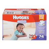 Huggies Little Movers Diapers, Size 4 (74 ea)