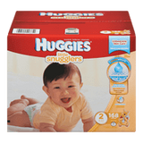 Huggies Little Snugglers Diapers, Club Pack Size 2 (168 ea)