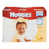 Huggies Little Snugglers Diapers, Club Pack Size 4 (132 ea)