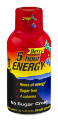 5-Hour Energy Shot Berries (59ml)