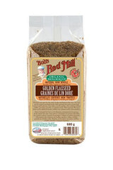 Bob's Red Mill Golden Flaxseed Organic (680g)  - Urbery