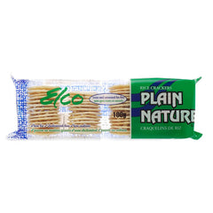 Elco Rice Crackers, Plain (100g)  - Urbery