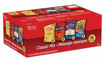 Frito Lay Multipack Classic Mix Variety Pack Snacks (18 Bags, 504g)  - Urbery