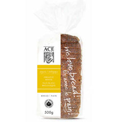 Ace Bakery Bread White Organic (500g)