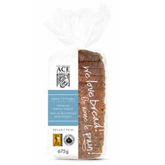 Ace Bakery Bread Whole Wheat Organic (675g)