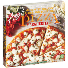 Amy's  Pizza Margherita ( 369g)  - Urbery