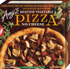 Amy's  Pizza Roasted Vegetable No Cheese (340g)