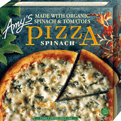 Amy's  Pizza Spinach (397g)