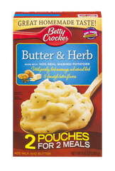 Betty Crocker Mashed Potato Butter & Herb (215g)