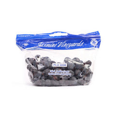 Black Seedless Grapes Bunch (Approx. bag of 1lb)  - Urbery