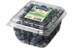 Blueberries Organic (approx. 130 g)  - Urbery
