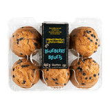 Farmer's Market Muffins Blueberry (6 per pack)