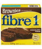 Brownies Fibre 1 Chocolatey Fudge (125 g)