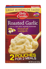 Betty Crocker Mashed Potato Roasted Garlic (215g)