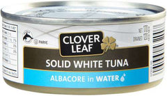 Clover Leaf Solid White Tuna Albacore in Water (170g)