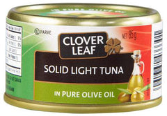 Clover Leaf Solid Light Tuna in Olive Oil (85g)