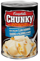 Campbell's Soup Chunky New England Clam Chowder (540ml)