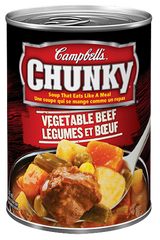 Campbell's Soup Chunky Vegetable Beef (540ml)