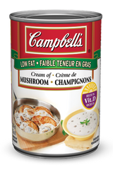 Campbell's Soup Cream Of Mushroom Low Fat (284ml)