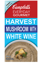 Campbell's Everyday Gourmet Harvest Mushroom With White Wine (500ml)