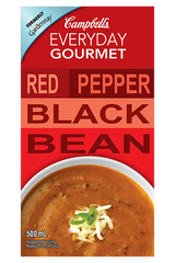 Campbell's Everyday Gourmet Harvest Red Pepper Black Bean (500ml)