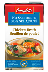 Campbell's Broth Chicken No Salt Added (900ml)