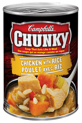 Campbell's Soup Chunky Chicken With Rice (540ml)