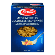 Barilla Pasta Medium Shells (454g)