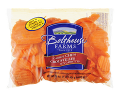 Carrot Crinkle Cut Slices (454g)  - Urbery