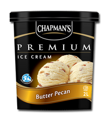 Chapman's Premium Ice Cream Tub Butter Pecan Ice Cream (2L)