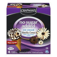 Chapman's Vanila Cones with Chocolatey Center ( 480 ml)