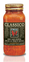 Classico Pasta Sauce Red Spicy Pepper (650ml)