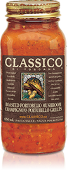 Classico Pasta Sauce Roasted Portobello Mushroom (650ml)