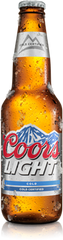 Coors Light Bottle (24 X 341ML)
