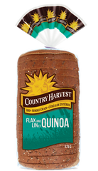 Country Harvest Bread Flax & Quinoa (675g)