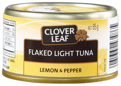 Clover Leaf Flaked Light Tuna Lemon & Pepper (85g)