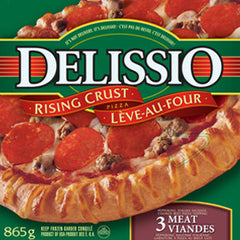 Delissio Rising Crust Pizza, 3 Meat (834g)