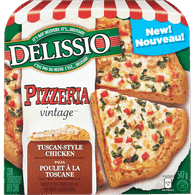 Delissio Vintage Pizzeria Pizza, Tuscan Style Chicken (547g)