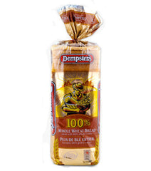 Dempster Bread 100% Whole Wheat (675g)