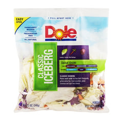 Dole Packaged Salad Classic Iceberg (340g)