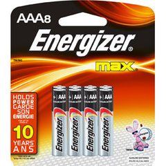 Energize Max Battery AAA (8 per pack)