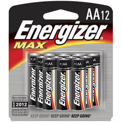 Energize Max Battery AA (12 per pack)