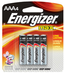 Energize Max Battery AA (4 per pack)