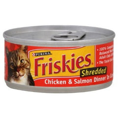 Friskies Chicken and Salmon Dinner in Gravy (156g)  - Urbery