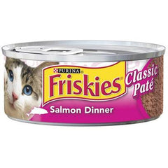Friskies Cat Food Salmon Dinner (156g)  - Urbery