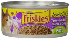 Friskies Cat Food Turkey Dinner in Gravy (156g)  - Urbery