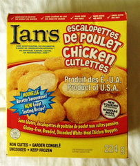 Ian's Chicken Cutlettes- Kids Meal (196g)  - Urbery