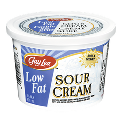 Gay Lea Sour Cream Low Fat (500ml)